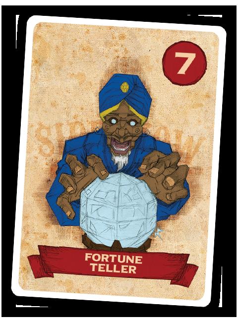 Sideshow Swap! Performer - Fortune Teller
