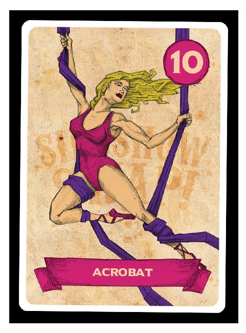 Sideshow Swap! Performer - Acrobat