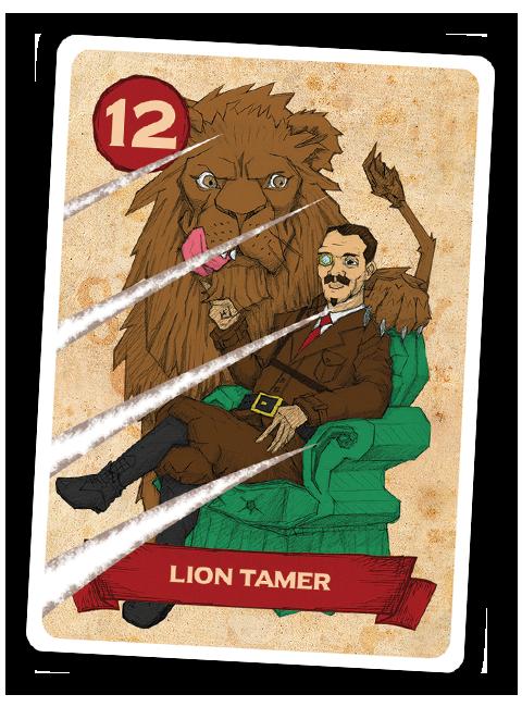 Sideshow Swap! Performer - Lion Tamer