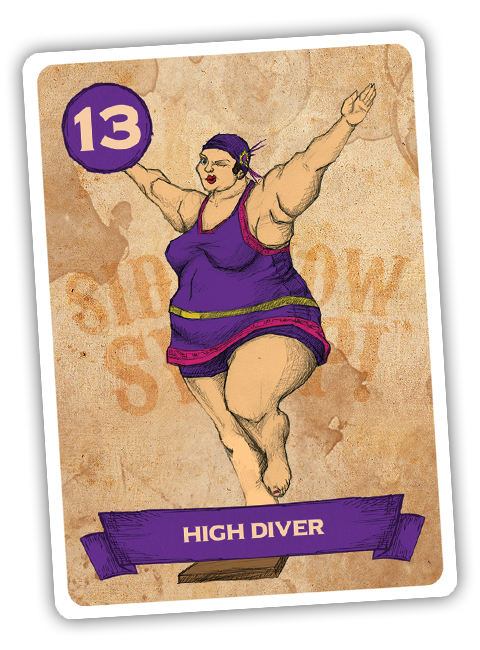 Sideshow Swap! Performer - High Diver