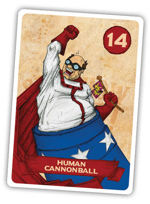 Sideshow Swap! Performer - Human Cannonball