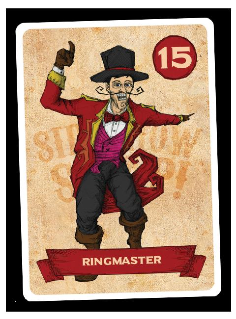Sideshow Swap! Performer - Ringmaster